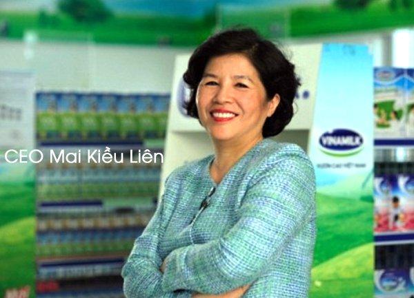 Mai Kiều Liên - Chuyện ít biết về nữ CEO Vinamilk