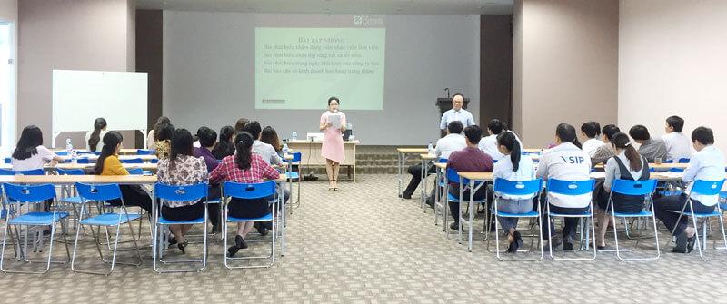 LỜI CẢM ƠN tới Công ty TNHH VSIP Quảng Ngãi và Tổ chức chuyên đề Kỹ năng thuyết trình & Huấn luyện nội bộ