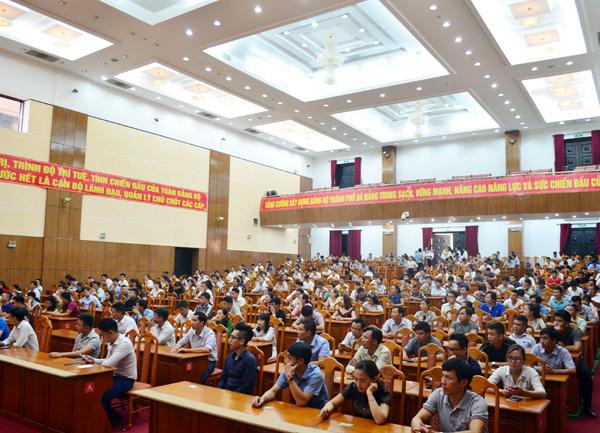 Tổ chức kỳ thi sát hạch chứng chỉ hành nghề môi giới bất động sản đợt 1.2018 tại Tp. Đà Nẵng