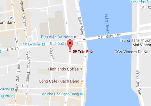 Bản đồ địa chỉ TOP OLYMPIA tại Đà Nẵng