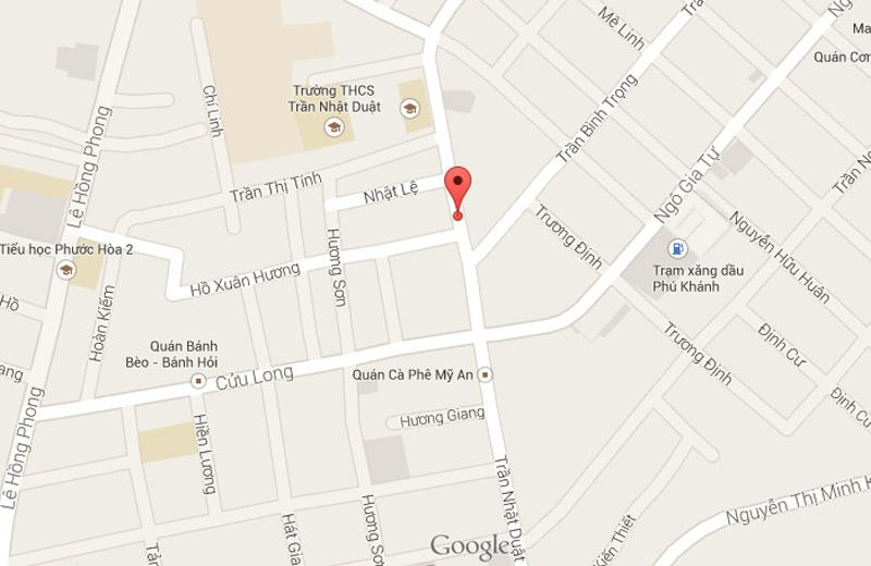 Bản đồ địa chỉ TOP OLYMPIA tại Nha Trang