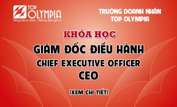 Giám đốc điều hành - CEO