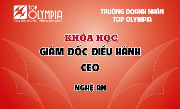 Khóa học Giám đốc điều hành - CEO tại Nghệ An