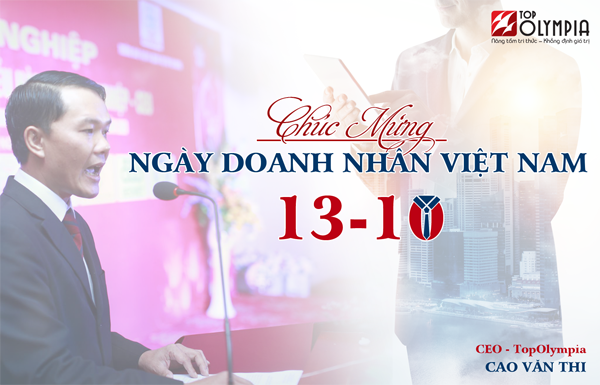 Thư chúc mừng nhân ngày Doanh nhân Việt Nam
