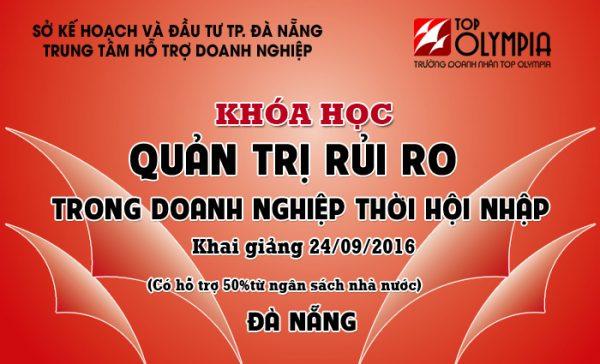 Khóa học Quản trị rủi ro trong doanh nghiệp tại Đà Nẵng