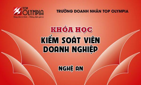 Khóa học Kiểm soát viên doanh nghiệp tại Nghệ An