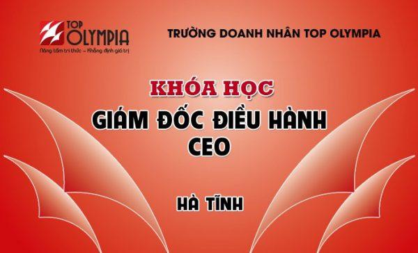 Khóa học Giám đốc điều hành – CEO tại Hà Tĩnh
