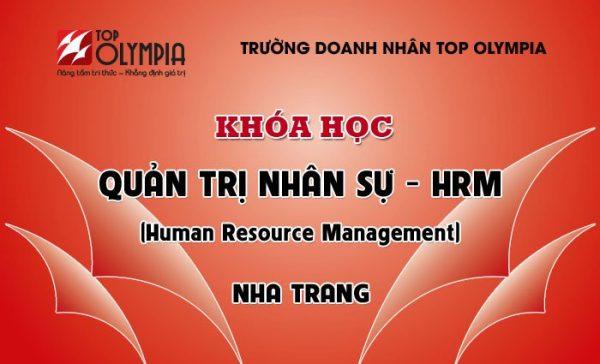 Khóa học Quản trị nhân sự - HRM tại Nha Trang
