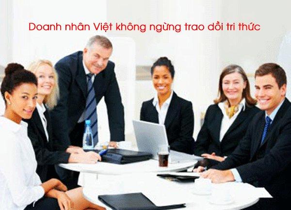 Doanh nhân Việt không ngừng trao dồi tri thức