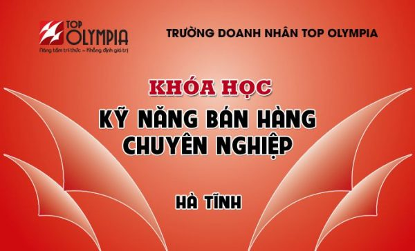Khóa học Kỹ Năng Bán Hàng tại Hà Tĩnh