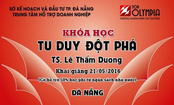 Khóa học Tư duy đột phá tại Đà Nẵng