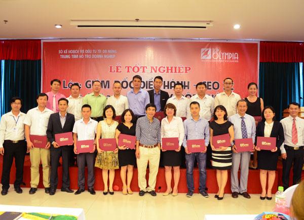 Bế giảng lớp Giám đốc điều hành CEO 32 tại Đà Nẵng