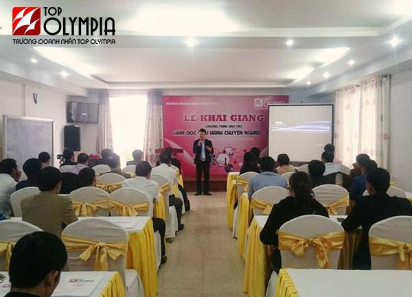 Khai giảng chương trình đào tạo Giám đốc điều hành CEO tại Hà Tĩnh