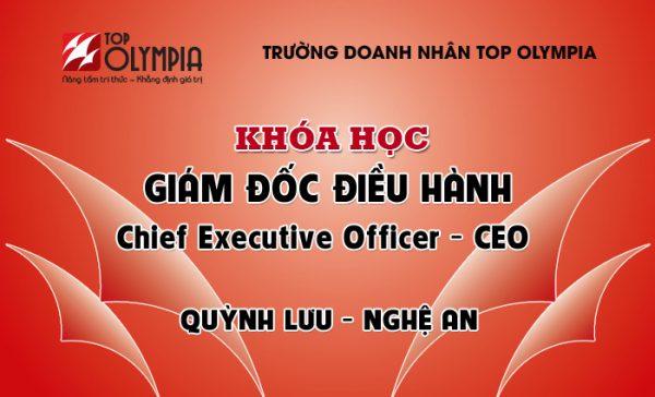 Khóa học Giám đốc điều hành - CEO tại Quỳnh Lưu, Nghệ An