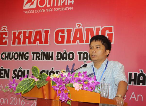 Khai giảng khoá đào tạo chuyên sâu Giám đốc điều hành - CEO K08 Nghệ An