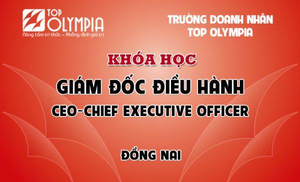 Khóa học Giám đốc điều hành - CEO tại Đồng Nai