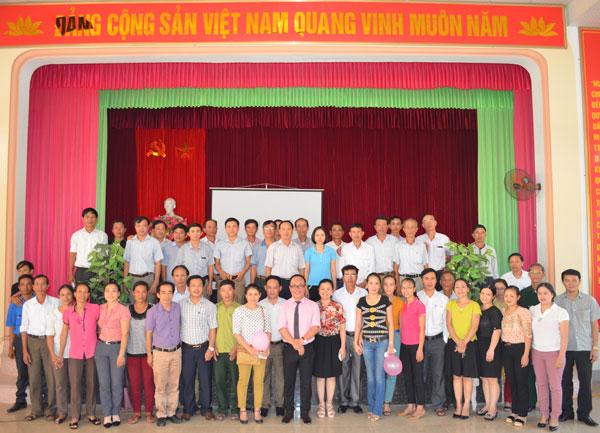 Tổ chức khóa học Kỹ năng giao tiếp dành cho cán bộ tại xã Nghi Phong, Nghệ An