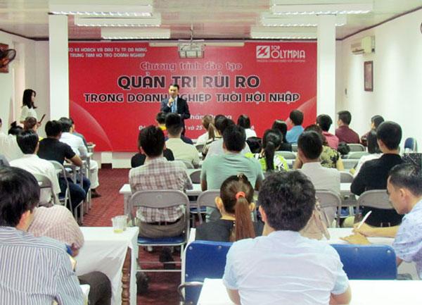 Tổ chức khóa Quản trị rủi ro trong doanh nghiệp thời hội nhập tại Đà Nẵng