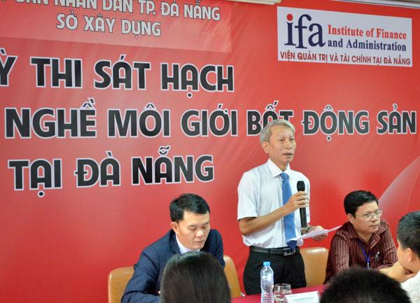 Tổ chức kỳ thi sát hạch cấp chứng chỉ hành nghề môi giới bất động sản đợt 1 tại Đà Nẵng