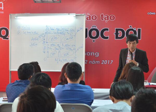 Tổ chức chương trình đào tạo Quản Trị Cuộc Đời dành cho CBCNV Công ty TNHH Hải Vân Nam