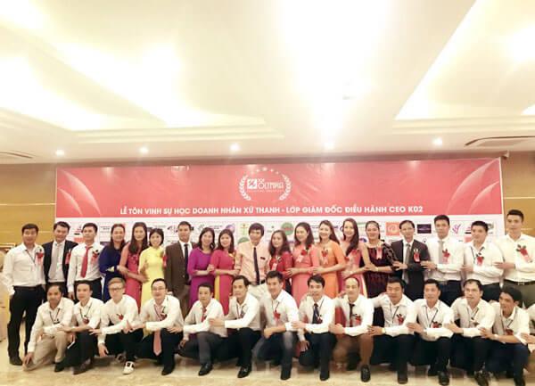 Bế giảng khóa Giám đốc Điều hành CEO 02 tại Thanh Hóa