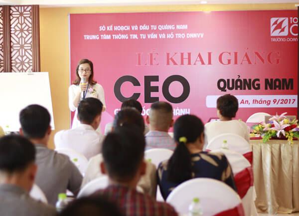 Tổ chức khóa Giám đốc điều hành - CEO 01 tại Hội An