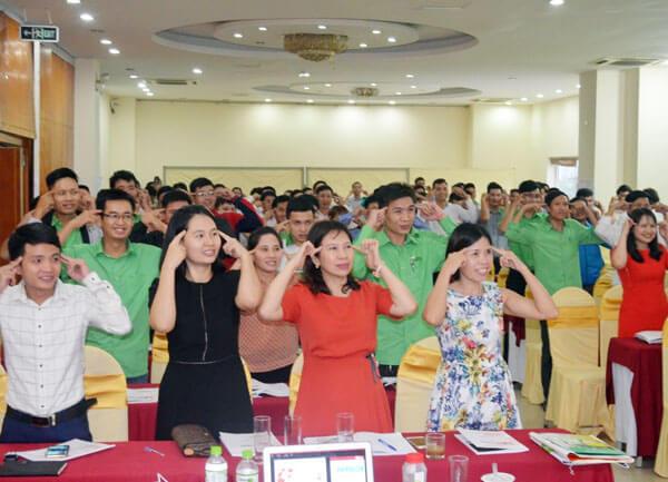Tổ chức khóa Kỹ năng bán hàng chuyên nghiệp tại Thanh Hóa