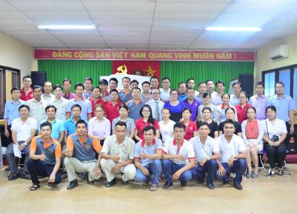 Tổ chức khóa Kỹ năng tổ chức nhóm chất lượng hiệu quả tại Prime Đại Lộc