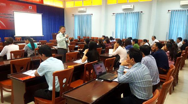 Tổ chức khóa Kỹ năng quản lý thời gian và tổ chức công việc hiệu quả cho Cán bộ tại Nha Trang