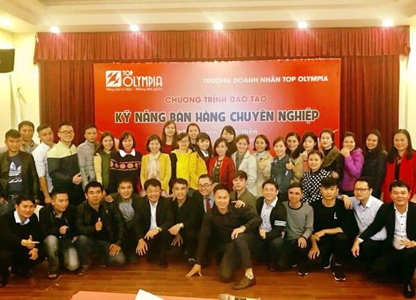 Tổ chức lớp Kỹ năng bán hàng chuyên nghiệp tại Nghệ An