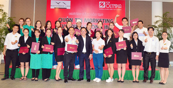 Tổ chức khóa Quản trị Marketing và định hướng IMC tại Sân gôn Montgomerie Links Vietnam