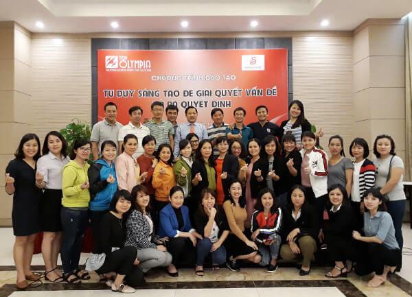 Tổ chức khoá Tư duy sáng tạo để giải quyết vấn đề và ra quyết định tại Saigon Co.op