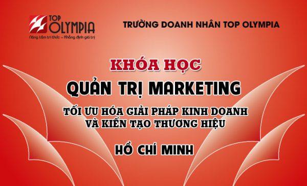 Khóa học Quản trị Marketing tại Hồ Chí Minh