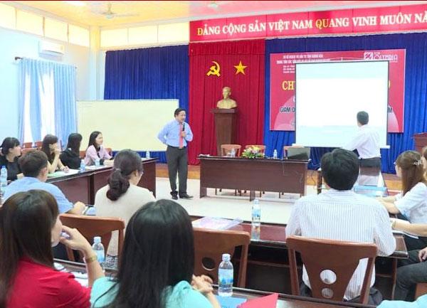 Khai giảng lớp đào tạo kỹ năng quản trị doanh nghiệp tại Khánh Hòa