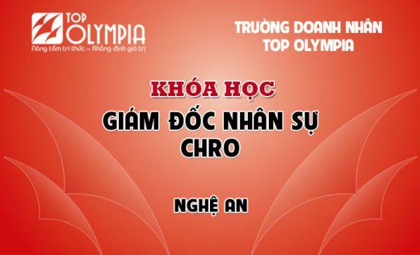 Khóa học Giám đốc nhân sự - CHRO tại Nghệ An
