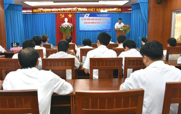 Tổ chức lớp bồi dưỡng cho 34 đồng chí quản lý cấp tổ/địa bàn tại VNPT Khánh Hòa