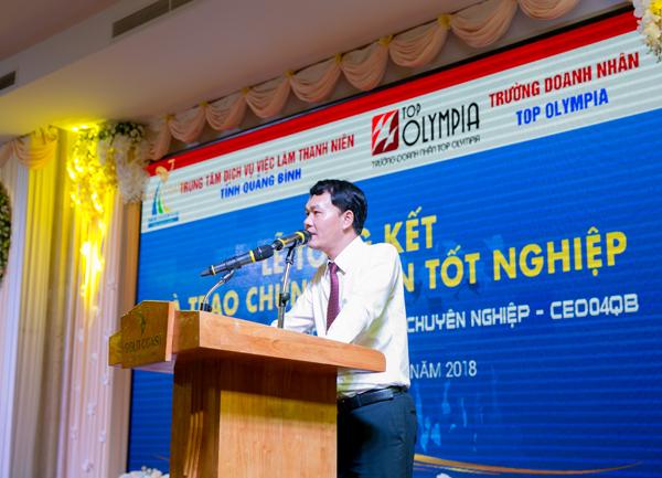 Bế giảng lớp Giám đốc điều hành CEO 04 tại Quảng Bình
