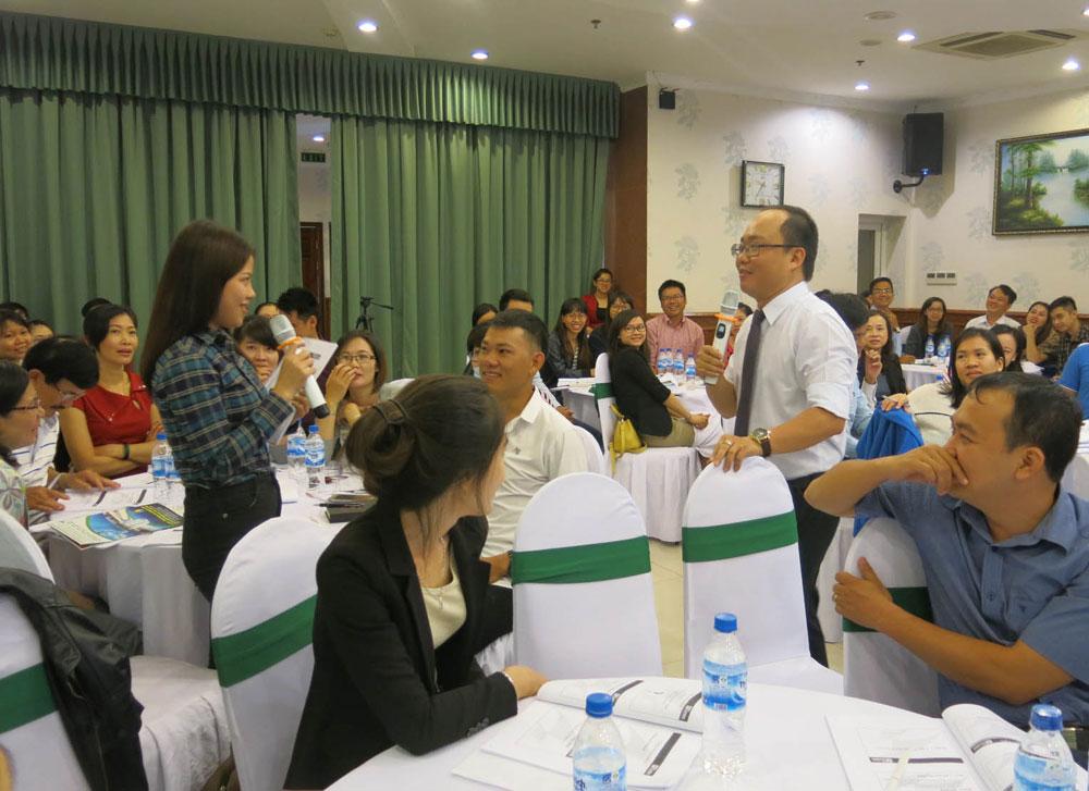 Hình ảnh lớp bán hàng tại Đà Nẵng