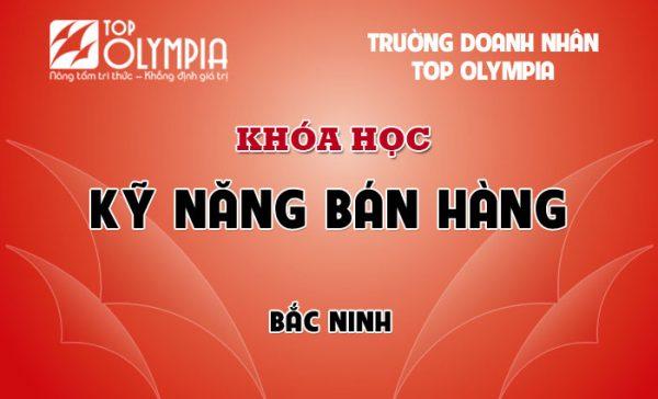 Khóa học Kỹ năng bán hàng tại Bắc Ninh