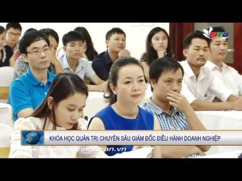 Thời sự NTV khai giảng khóa CEO tại Nghệ An ngày 24/10/2015