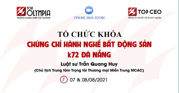 To Chuc Khoa Chung Chi Hanh Nghe Bat Dong San K72 Da Nang