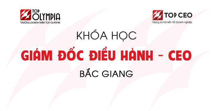 Giam Doc Dieu Hanh Bac Giang