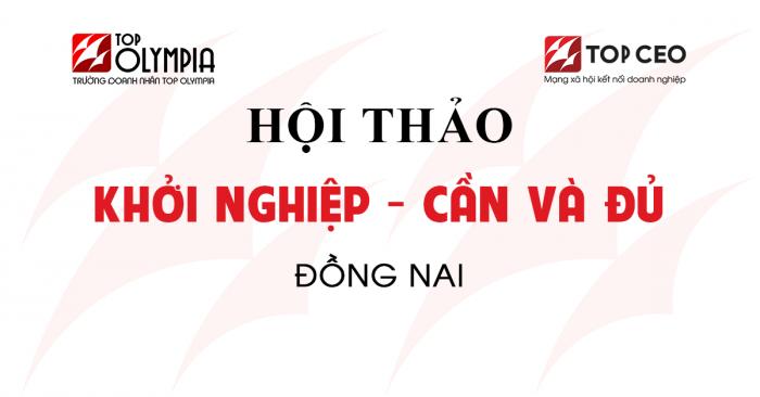 Khoi Nghiep Can & Du Dong Nai