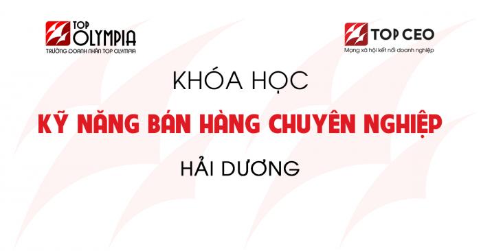Ky Nang Ban Hang Hai Duong