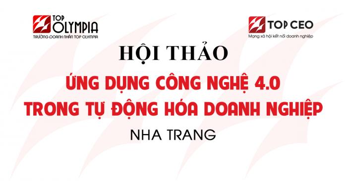Ung Dung Cong Nghe 4.0 Nha Trang