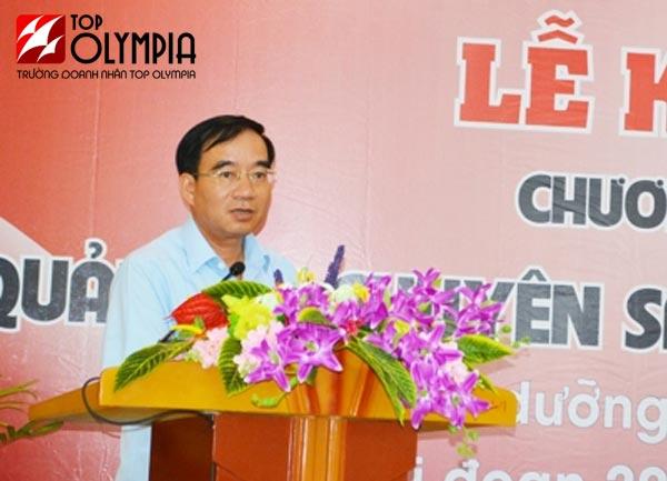 Phó Chủ tịch UBND tỉnh phát biểu