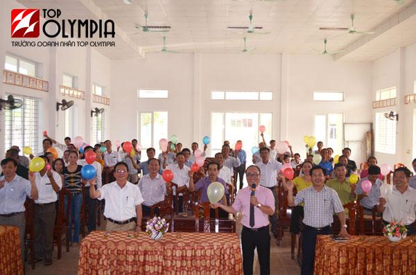 Tổ chức khóa học Kỹ năng giao tiếp dành cho cán bộ tại xã Nghi Phong, huyện Nghi Lộc, tỉnh Nghệ An