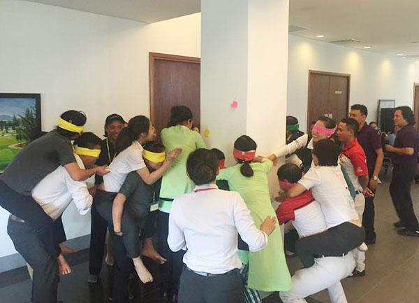 Khóa huấn luyện Hình thành Niềm tin và Trách nhiệm tại sân Golf Montgomerie Links Việt Nam