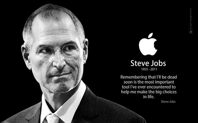 Steve Jobs - đồng sáng lập viên, chủ tịch, và cựu tổng giám đốc điều hành của hãng Apple